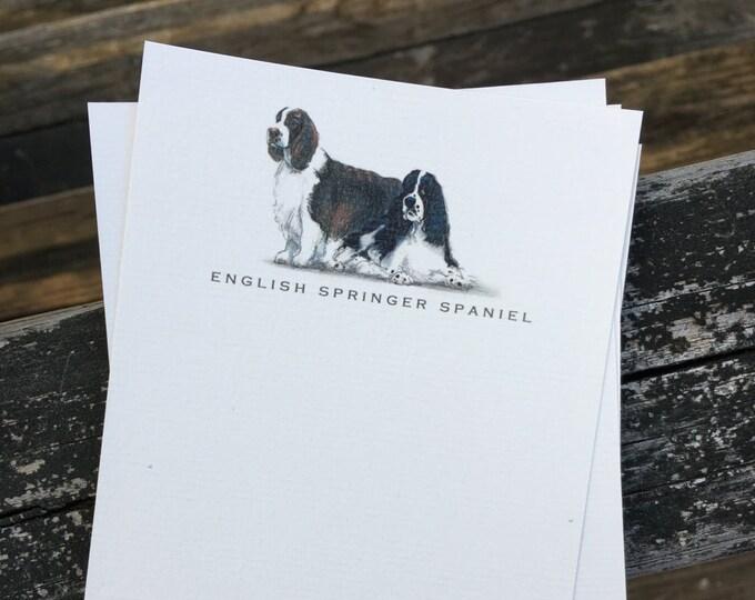 English Springer Spaniel Note Card Set