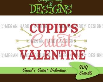 Cupid's Cutest Valentine SVG