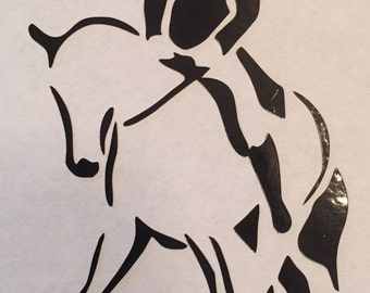 Dressage Decal Etsy