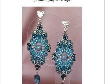 "TUTORIAL ""ATENA"" earrings / orecchini"