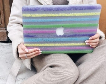 BLURRED LINES Macbook Air 13 case, Macbook A1466 case, Macbook Air cases, Macbook Air case, Macbook 13 inch, Macbook 13, Macbook air 13