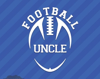 Football Uncle Vinyl Decal Sticker