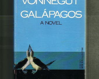 GALAPAGOS by Kurt Vonnegut.  1988 Laurel Edition Paperback In Very Good Condition.