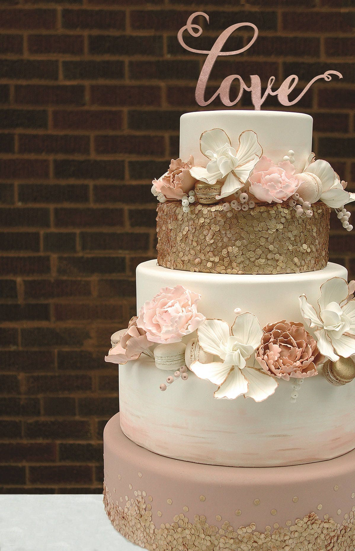 wedding cake ideas rose gold cake topper gold cake topper gold cake topper 22933