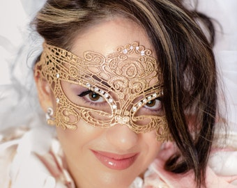 Phantom of the Opera Mask Masquerade Mask Ball Mask Eye Mask Lace Mask