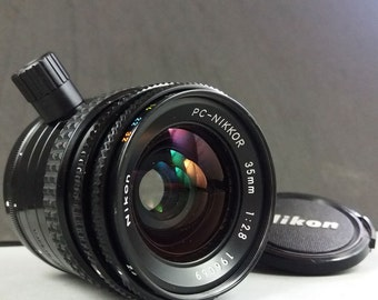 Nikon 35mm f/2.8 PC Nikkor AI Shift Manual Perspective Control Lens