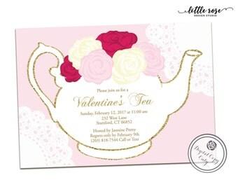 Afternoon tea invite | Etsy