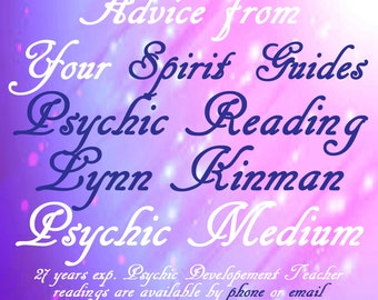 Psychic Reading Advice From Your Spirit Guides  Are You On Your Life Path? Find Out Through Your Spirit Guides w/ Psychic Medium Lynn Kinman