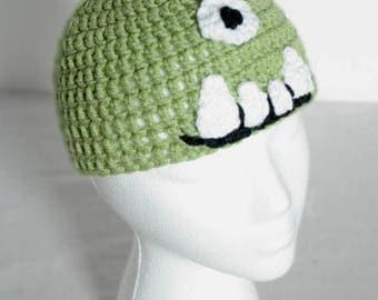 Infants's Crochet Silly Monster Hat
