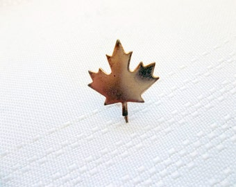 Maple Leaf Pin, Small Maple Leat Pin, Canada souvenir pin