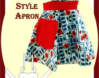 Sewing Pattern: Rockabilly Style Apron