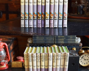 Bobbsey Twins Book Collection - Set of 11 Hardcovers - Grosset & Dunlap - Laura Lee Hope - Mid Century Vintage - 1950's to 1960's