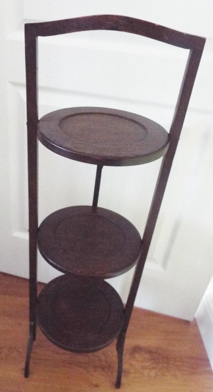 Vintage Folding Cake Stand