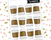 Coffee // Limited Edition [24HR ONLY] (Glossy Planner Stickers)