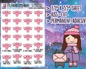 Hand Drawn Stickers, PMS Stickers, Ovaries Stickers, Period Stickers, Funny Stickers, Planner Stickers - 303