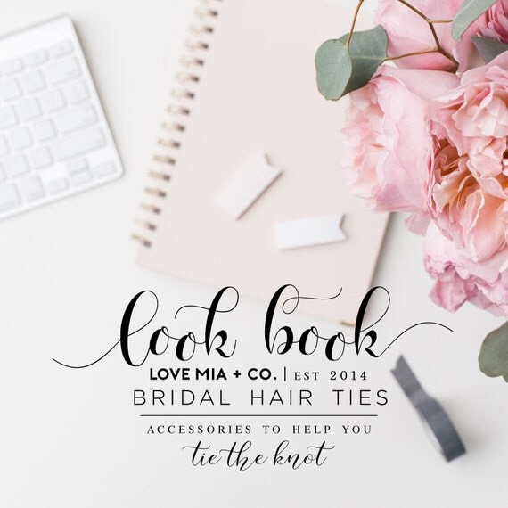 BRIDAL PARTY Hair Tie Print Charts | Love Mia + Co. Hair Ties for Wedding, Bridal Shower + Bachelorette Party Favors