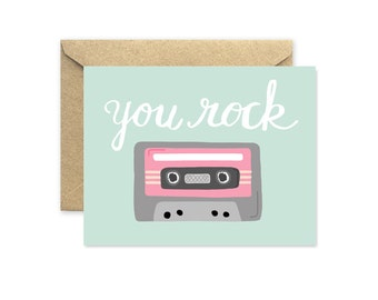 Mixed Tape - Greeting Card