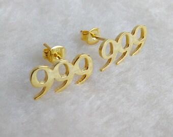 Number Stud Earring,Custom Number Earring,Personalized Earrings,Initial Stud Earrings,Star Stud Earrings,Heart Studs Earring,%100 Handmade