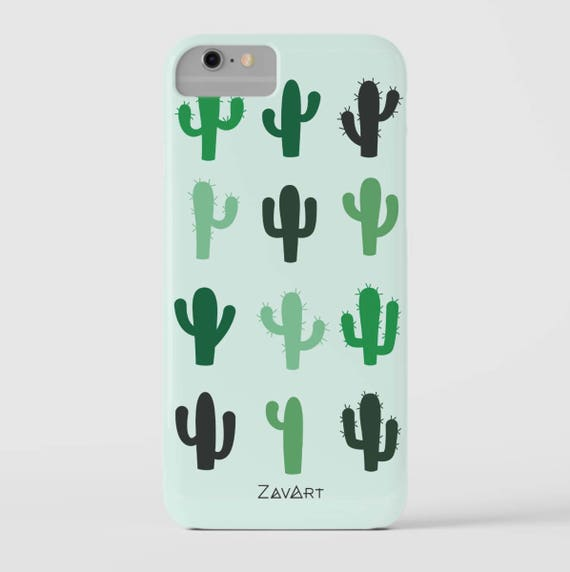 CACTUS phone case, iPhone 7 case, iPhone 6 case, iPhone 6S case, iPhone 5S case, iPhone SE case, Huawei P9 Lite case, funda movi