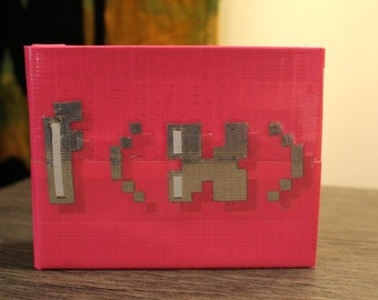 f(x) Pink Tape Kpop Duct Tape Wallet
