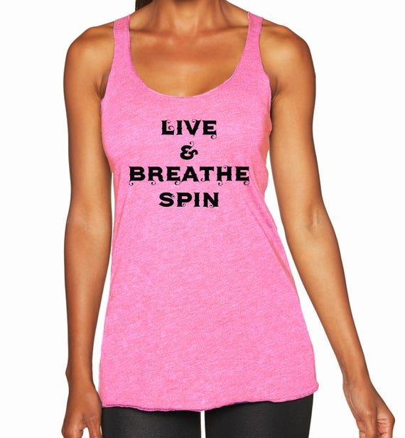 Live & Breathe Spin Racerback Tank Top