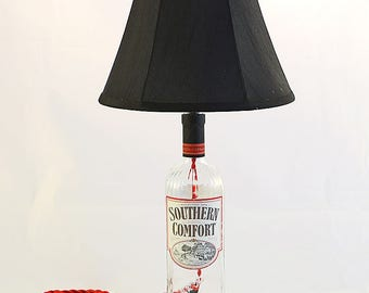 Southern Comfort Recycled Liquor Bottle Lamp