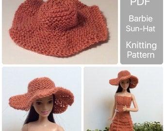Barbie hat pattern Etsy