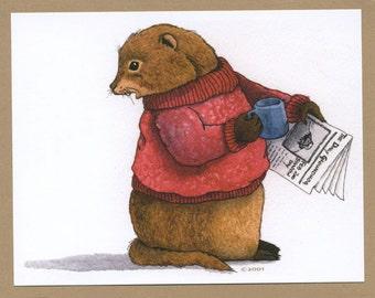 Goundhog Day Card