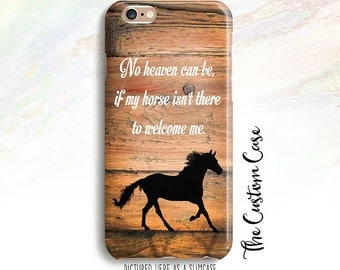 Horse Phone Case, Horse on Wood Phone Case, Equestrian Phone Case, Stallion, Iphone 6/6+/7/7+, Samsung Galaxy S6/S6 Edge/S7/S8/S8 PLUS