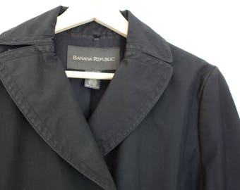 vintage 90s Banana Republic peacoat