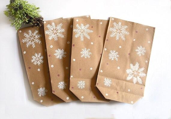 Christmas bag gift sets paper