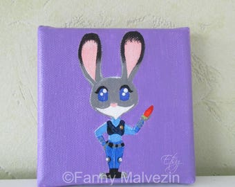 Judy Hopps - Mini painting