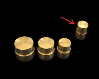 """SMALL Direct Replacement Brass Pushrod Plunger for Extruding """"Swedish-Wrapped"""" Coin Rings"""