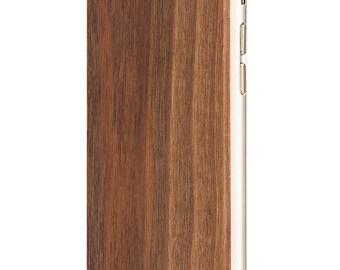 Shell wood Walnut - back to iPhone