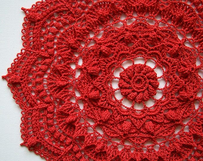 Crochet doily pattern SONYA, Instant download