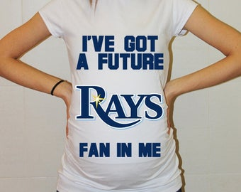 Tampa Bay Rays Baby Tampa Bay Rays Baby Boy Baby Girl Maternity Shirt Maternity Clothing Pregnancy New Baby Shower