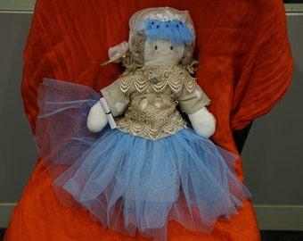 Adorable Handmade Medieval Cloth Dolls - Bambole di pezza * Made in Italy *