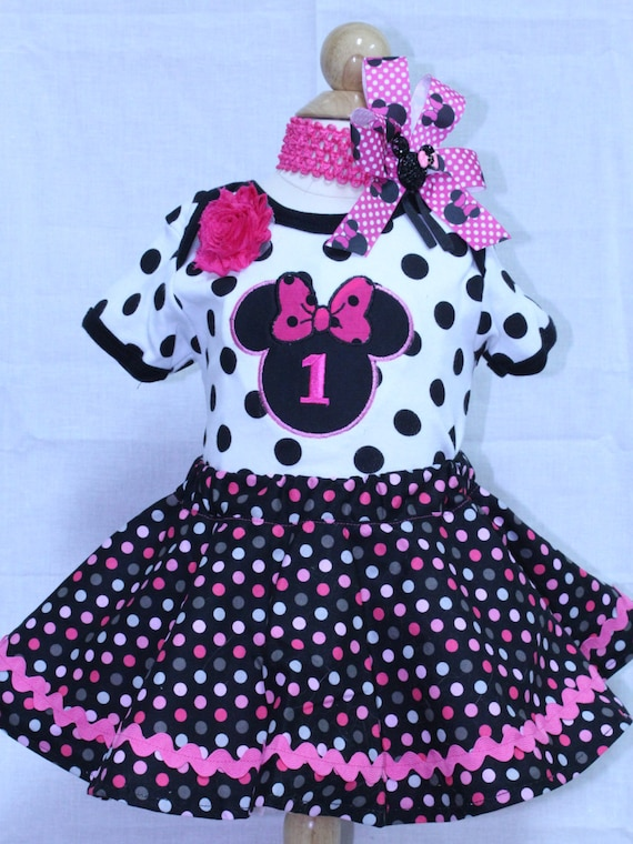 12fdebe8b DollyWolly Quilting and Sewing,LLC. 0. Minnie Mouse inspired 1st birthday  ...