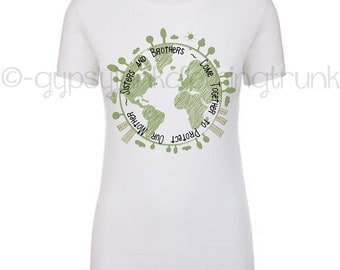 Earth Day Shirt - Save the Earth - Mother Earth - Climate Change Shirt - Environmental Shirt - Protect the Planet - Earth Day Top