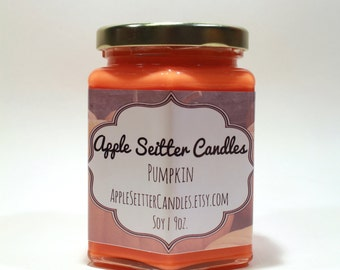All Natural Pumpkin Soy Candle