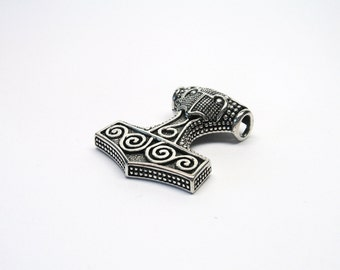 Beautiful Thor Hammer pendant silver 925 jewelry Pendant