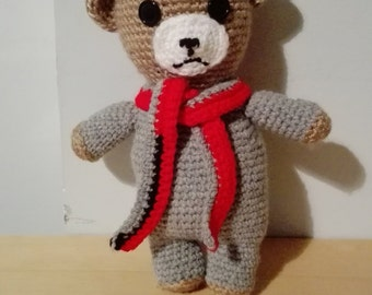 Crochet handmade teddy bear
