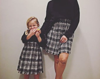 Mother and daughter NoMad Skirt
