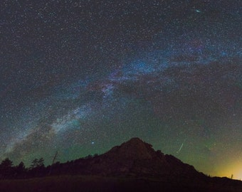 Perseid Pano Photo Print
