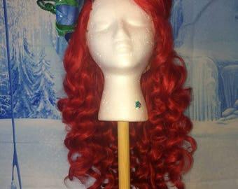 Little Mermaid Inspired Cosplay Wig