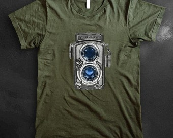 Rolleifex TLR Vintage Camera Shirt