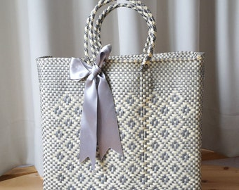Woven plastic Handbag