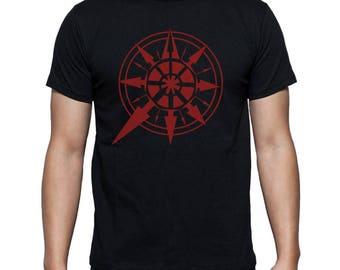 Red Chaos Star Warhammer 40K t-shirt Dawn of War Game t-shirt Cosplay print Gift for him For boyfriend Gift for geek Mens t shirt