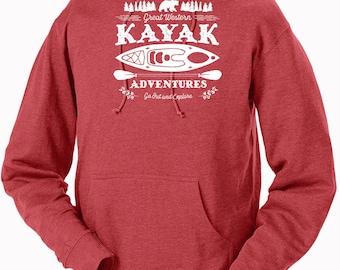 Kayak Adventures Unisex Hoodie