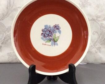 3 Fruit Plates Syracuse China Old Ivory - Set of Three 3